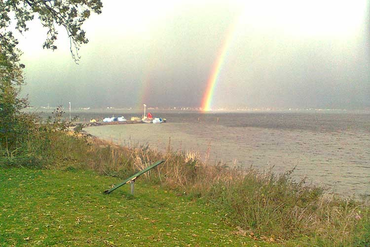 Regnbue over det sydfynske øhav