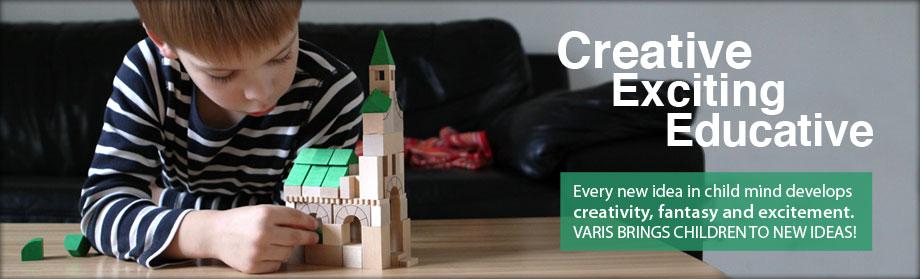 Legetøj der udvikler børns leg